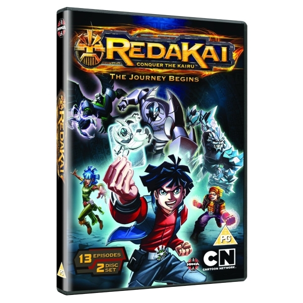 Redakai Conquer The Kairu The Journey Begins DVD