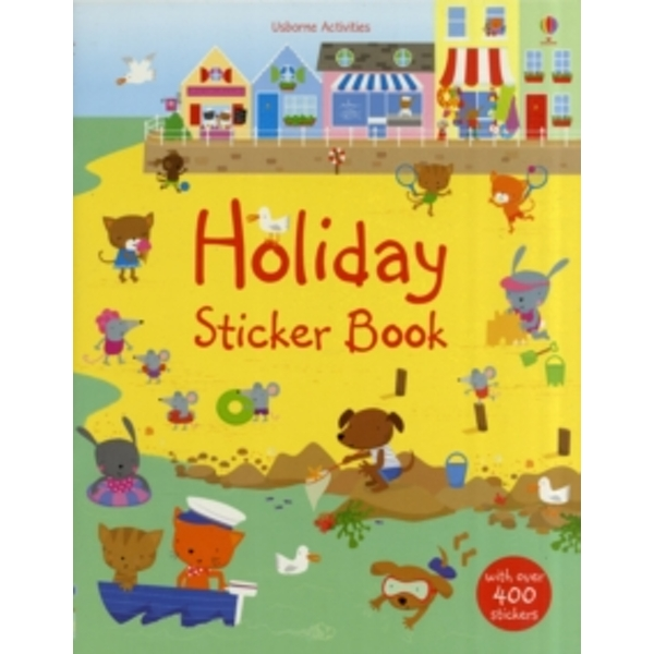 Holiday Sticker Book by Fiona Watt (Board book, 2009)