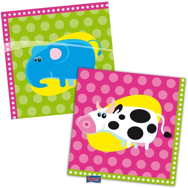 Animal Party Napkins (Pack Of 20)