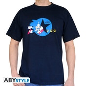 Sonic - Running Men's XX-Large T-Shirt - Navy