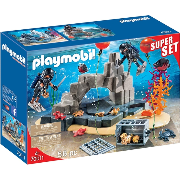 Playmobil Super Set Tactical Dive Unit