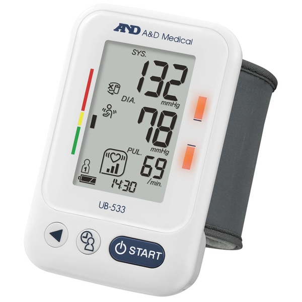 A&D Medical UB533 Wrist Blood Pressure Monitor