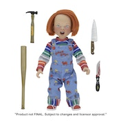 "Clothed Chucky (Childs Play) 8"" Figure"