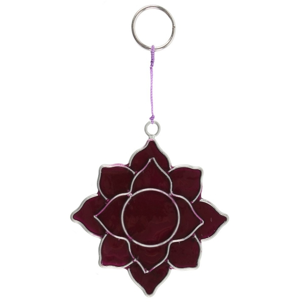 Crown Chakra Mini Symbol Suncatcher