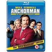 Anchorman The Legend Of Ron Burgundy Blu-ray