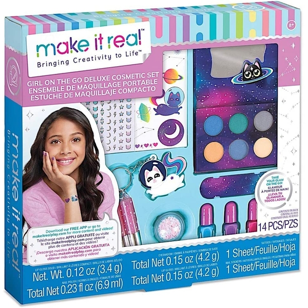 Make It Real - Girl on the Go Cosmetic Makeup Set
