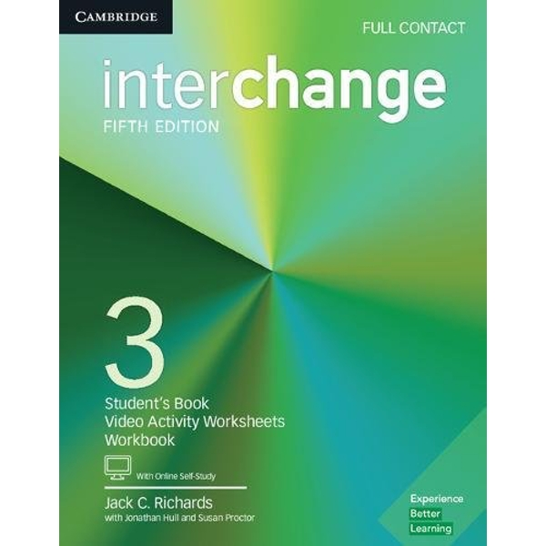 Interchange Level 3 Full Contact with Online Self-Study  Mixed media product 2017