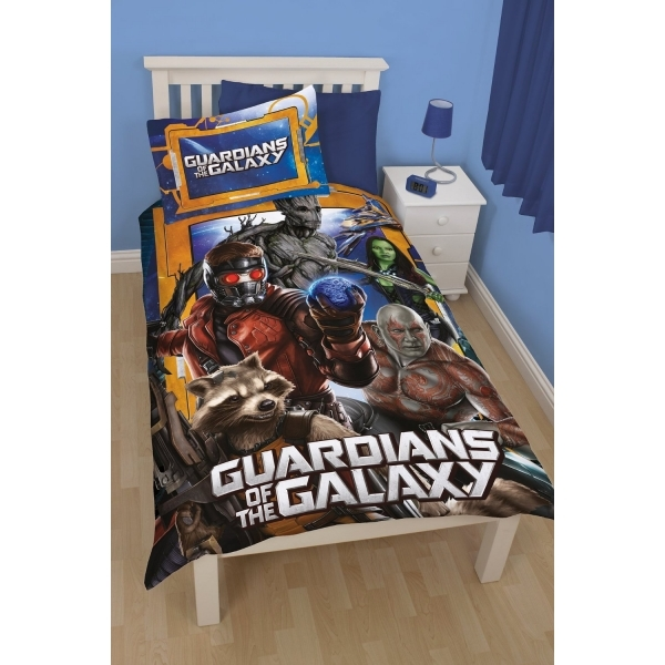 Disney Guardians of the Galaxy Misfits - Single Panel Duvet Set
