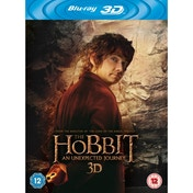 The Hobbit An Unexpected Journey UV + Blu Ray + 3D Blu Ray
