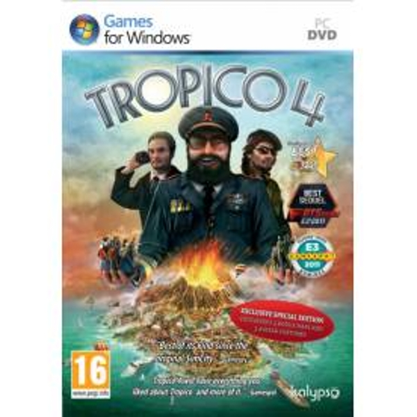 Tropico 4 Special Edition Game PC