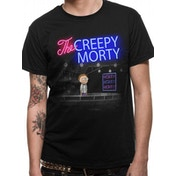 Rick And Morty - Bartender Morty Men's XX-Large T-Shirt - Black
