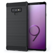 CASEFLEX SAMSUNG GALAXY NOTE 9 CARBON ANTI FALL TPU CASE - BLACK