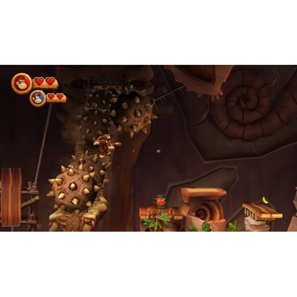 Donkey Kong Country Returns Game Wii - Image 5
