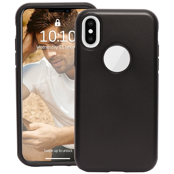 Groov-e GVMP048 4ft Drop Tested High Impact Case for iPhone X/XS - Black