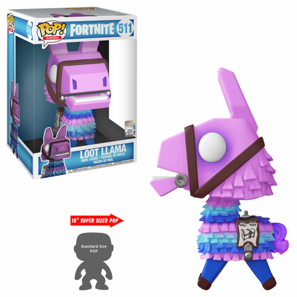 "Loot Llama 10"" (Fortnite) Funko Pop! Vinyl Figure #511"