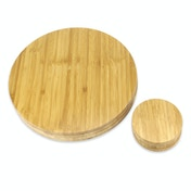 Bamboo Circle Placemats & Coasters | M&W