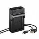 Hama USB lader voor Canon LP-E10