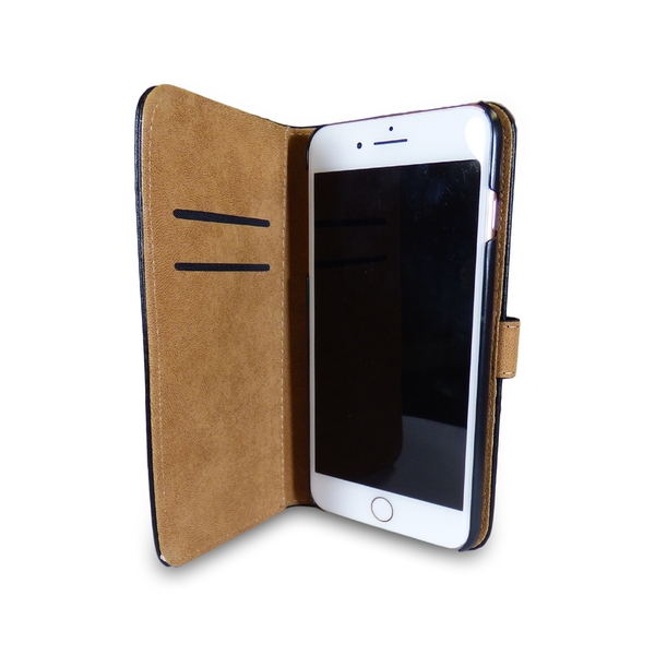 iPhone Leather Case + Tempered Protector iPhone 7 New - Image 5