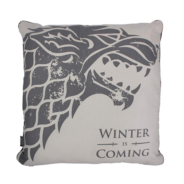Game Of Thrones - Winter Is Coming (Stark) Cushion