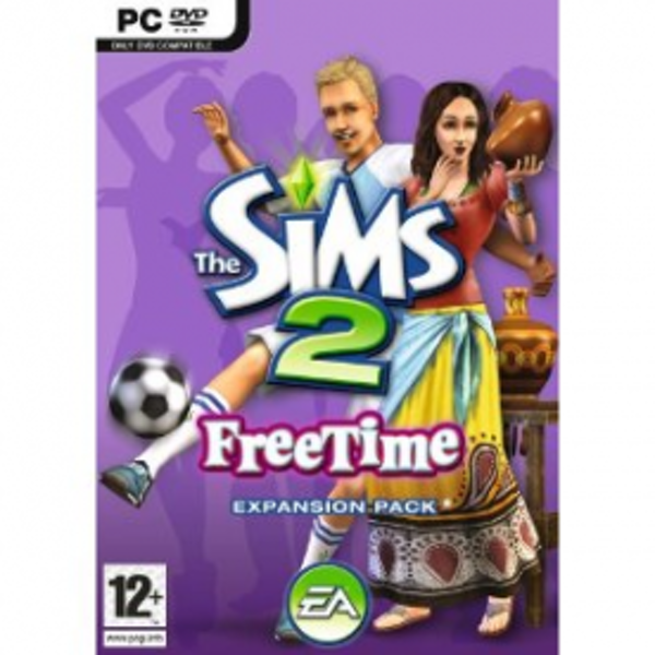 The Sims 2 FreeTime Expansion Pack Game PC