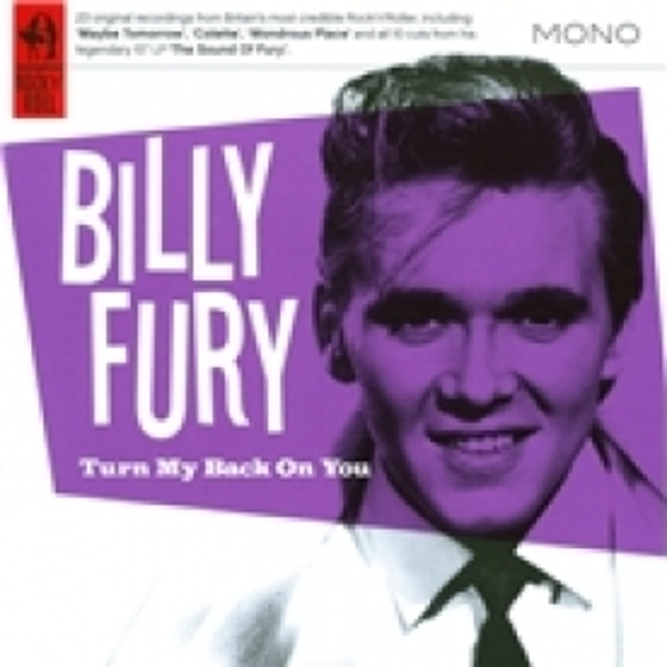 Billy Fury Turn Your Back On Me CD