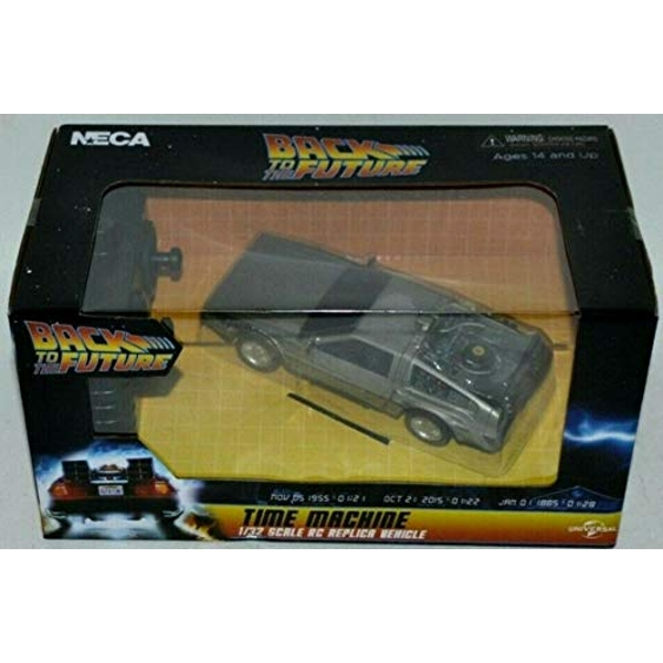 Time Machine Bttf (Back to the Future) Remote Control Vehicle