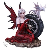 Crimson Fairy Figurine