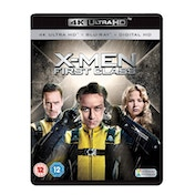 X-Men: First Class 4KUHD   Blu-ray