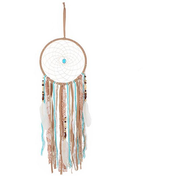 Dream Catcher Tan Suede W/Glass Nugget