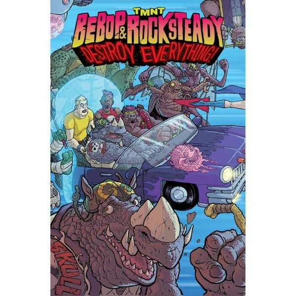 TMNT  Bebop & Rocksteady Destroy Everything