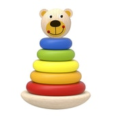 Bear Tower Wooden Activity Toy