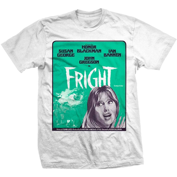 StudioCanal - Fright Poster Unisex Small T-Shirt - White