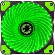 Game Max Mistral 32 x Green LED 12cm Cooling Fan