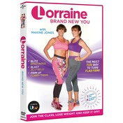 Lorraine Kelly: Brand New You DVD