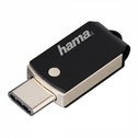 Hama C-Turn FlashPen 32GB Type-C USB 3.1/USB 3.0 100 MB/s (Black/Silver)