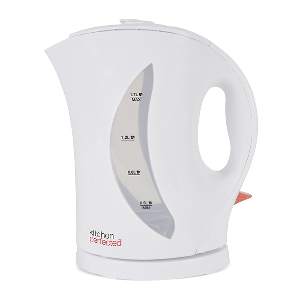 Kitchen Perfected 2Kw 1.7Ltr Cordless Kettle - White UK Plug