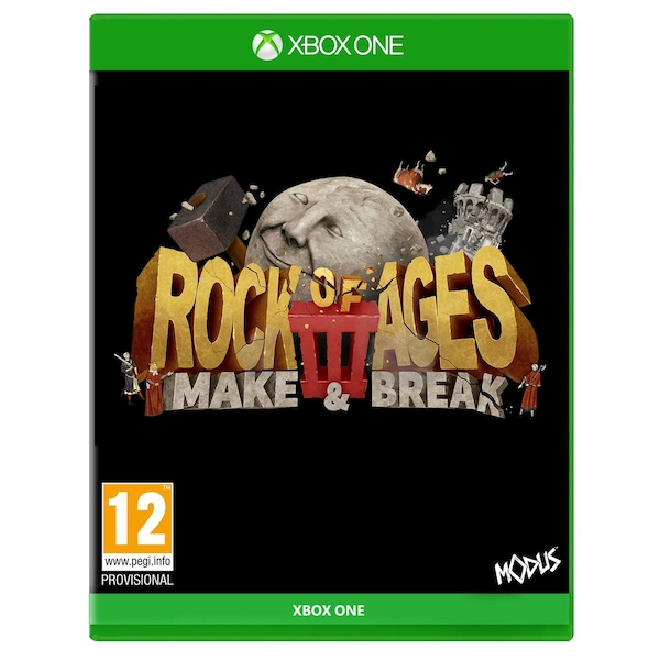 Rock of Ages 3 Make & Break Xbox One Game