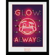 Emoji Glow Collector Print