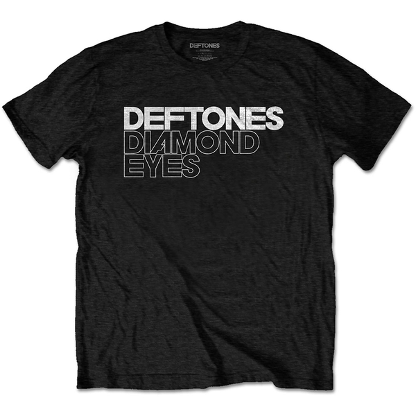 Deftones - Diamond Eyes Unisex X-Large T-Shirt - Black