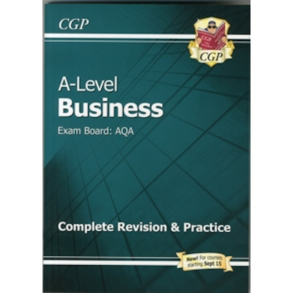 A-Level Business: AQA Year 1 & 2 Complete Revision & Practice