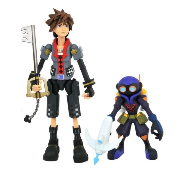Toy Story Sora with Air Soldier (Kingdom Hearts 3) Series 2 Diamond Select 7 Inch Action Figure