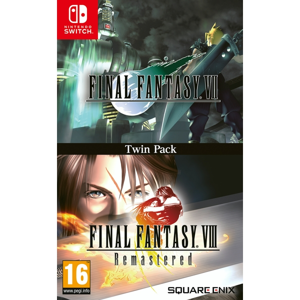 Final Fantasy VII and Final Fantasy VIII Remastered Nintendo Switch Game