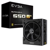 EVGA SuperNOVA 650 G1  80 Plus Gold 650 W Fully Modular Power Supply Unit - Black UK Plug
