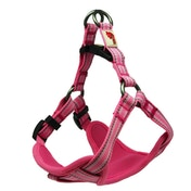 Long Paws Pink Comfort Collection Padded Harness M
