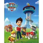 Paw Patrol Team Mini Poster