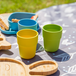 Bamboo Fibre Tableware Cups - Set of 4 | M&W - Image 5