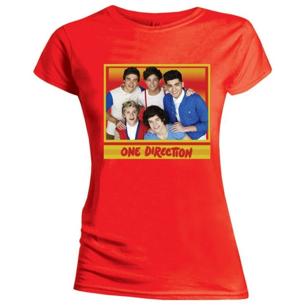 One Direction - Cool Women's Small - Red