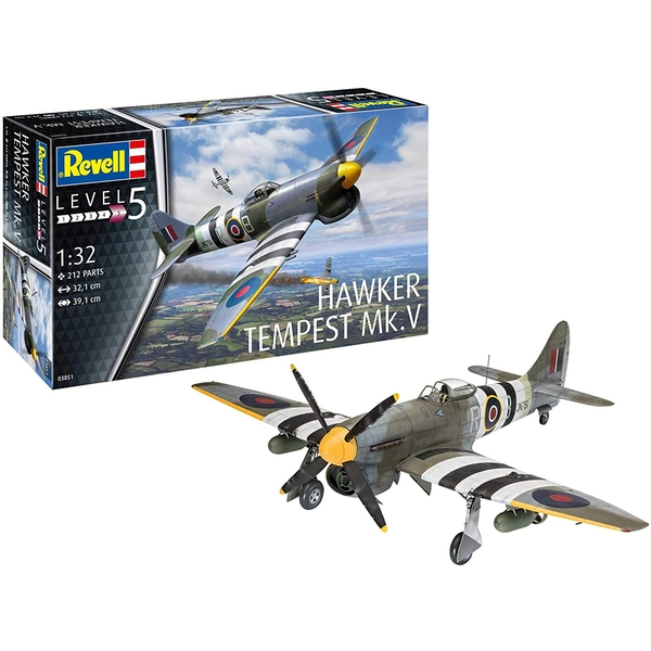 Hawker Tempest V 1:32 Revell Model Kit