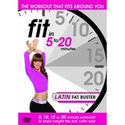 Fit In 5 To 20 Minutes: Latin Fat Buster DVD