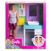 Barbie Shaving Ken Doll Playset